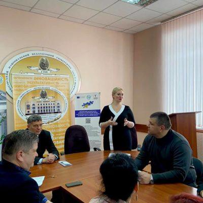 Голова Ради адвокатів Чернігівської області взяла участь у круглому столі в інституті історії (фото)